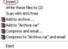 Add 'Insert' Option To CD/DVD Drive Context Menu