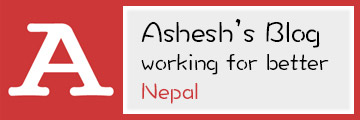 Ashesh's Blog