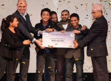 Ncell app camp 2014 final winner ICT for Agriculture